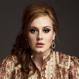 [Image of Adele]