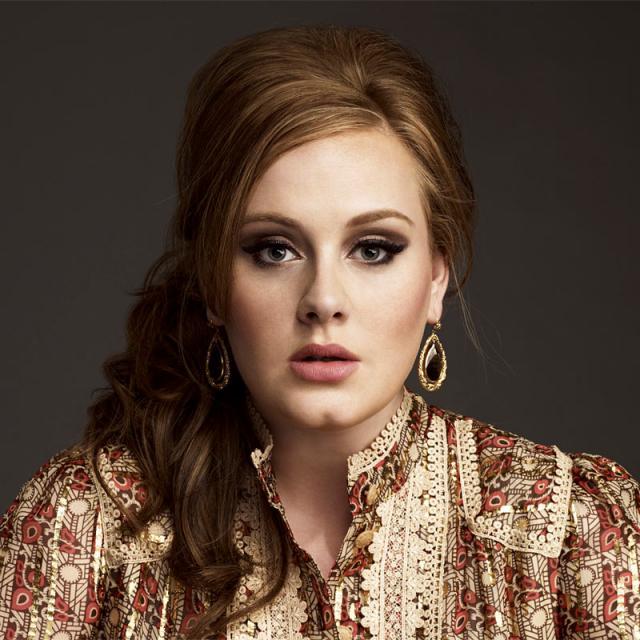 [Image of Adele]