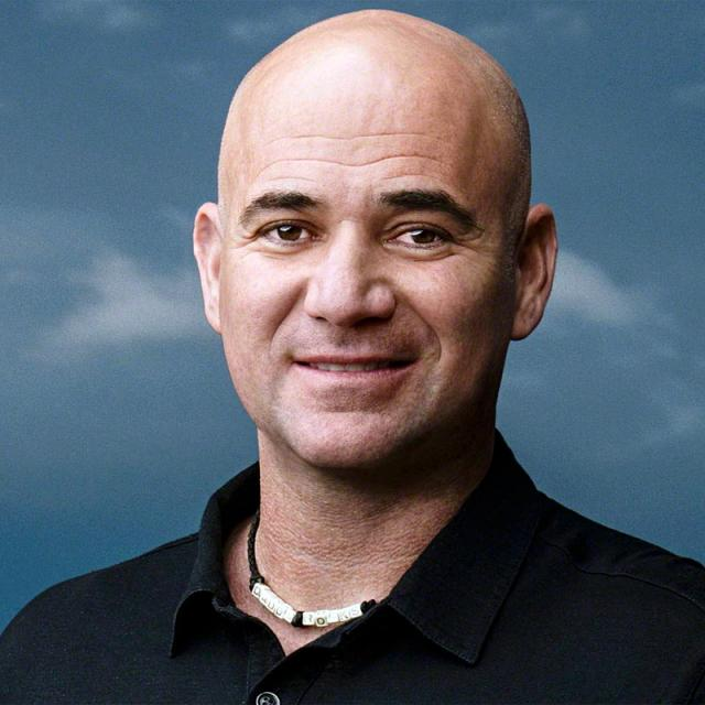 [Image of Andre Agassi]