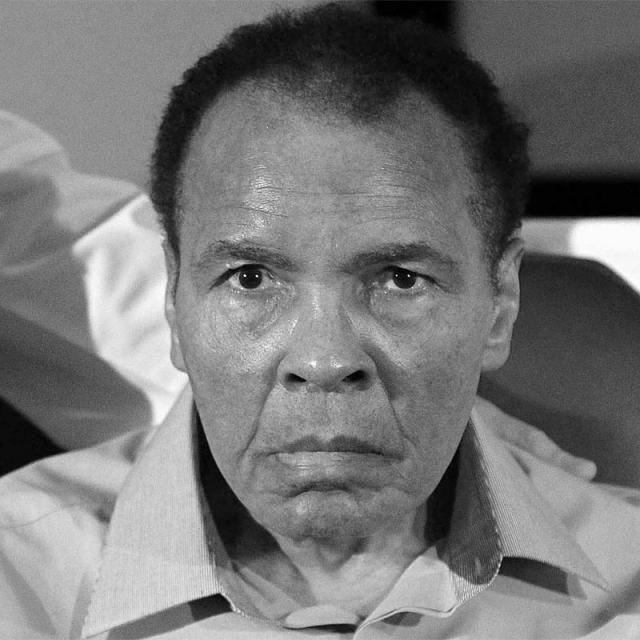 [Image of Muhammad Ali]