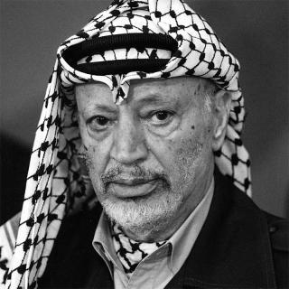 [Image of Yasser Arafat]