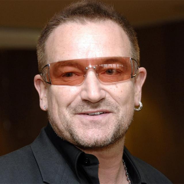 [Image of Bono]