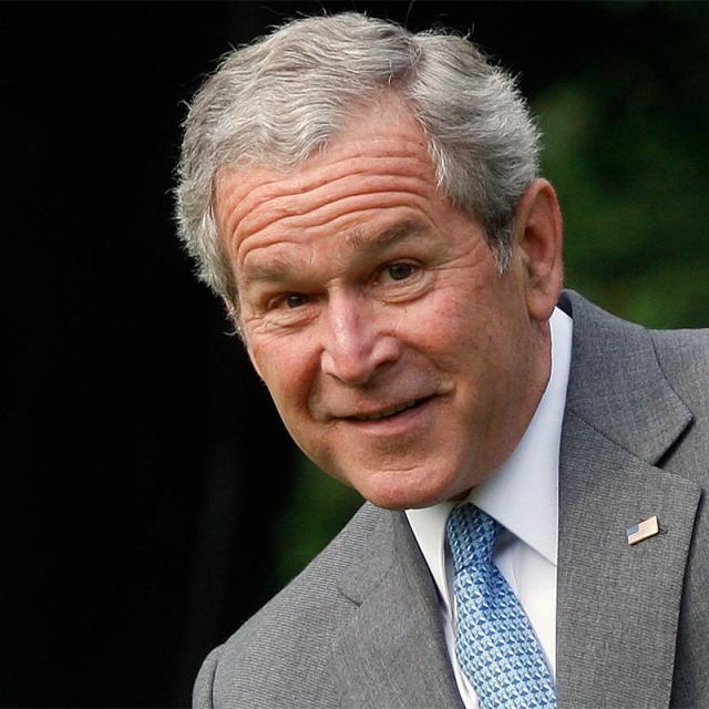[Image of George W. Bush]