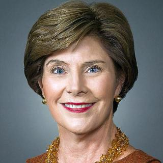 [Image of Laura Bush]
