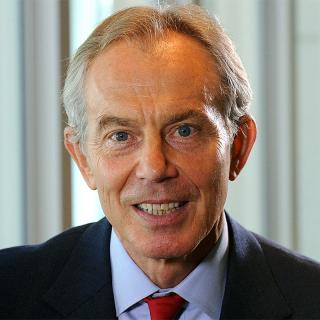 [Image of Tony Blair]