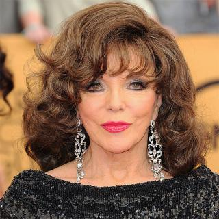 [Image of Joan Collins]