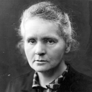 [Image of Marie Curie]