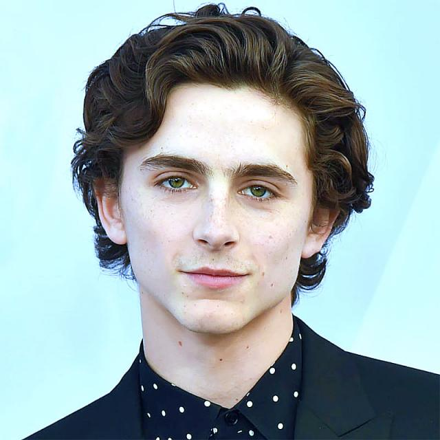 [Image of Timothee Chalamet]