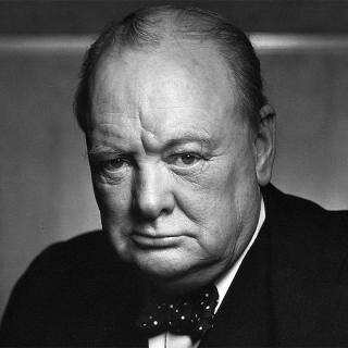 [Image of Winston Churchill]