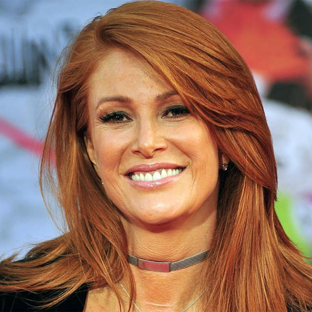 [Image of Angie Everhart]