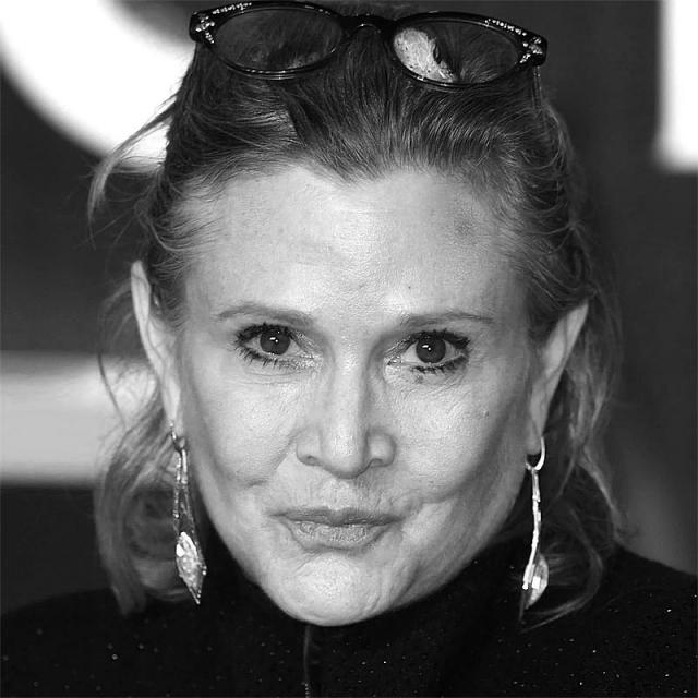 [Image of Carrie Fisher]
