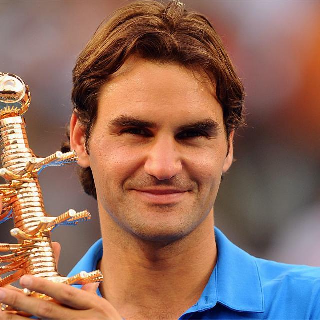 [Image of Roger Federer]