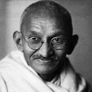 [Image of Mahatma Gandhi]