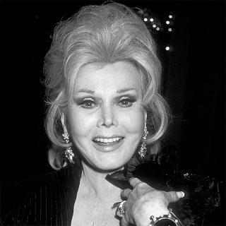 [Image of Zsa Zsa Gabor]