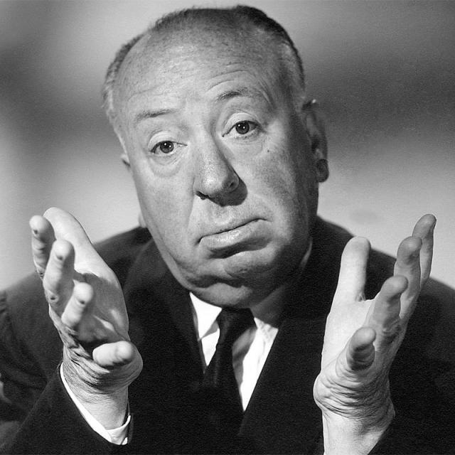 [Image of Alfred Hitchcock]