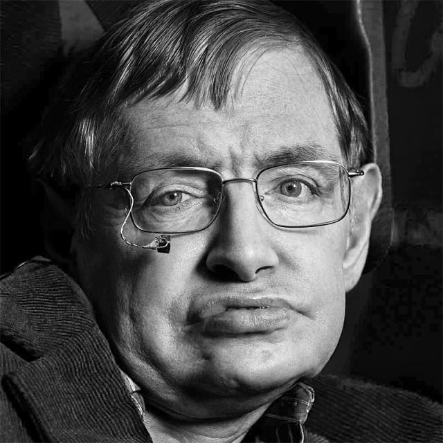 [Image of Stephen Hawking]