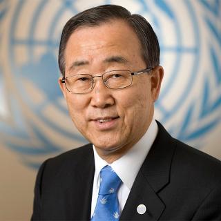 [Image of Ban Ki-moon]