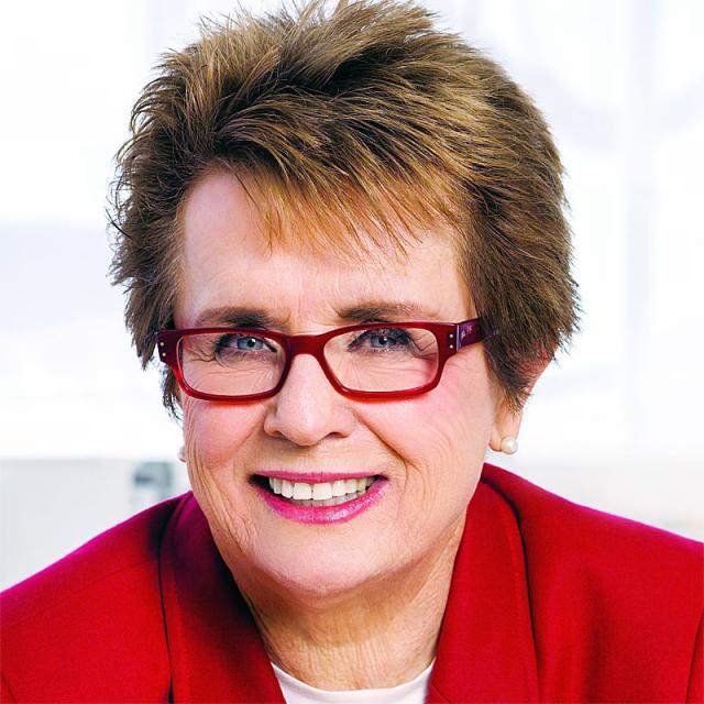[Image of Billie Jean King]