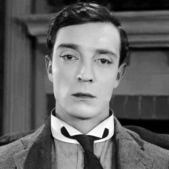 [Image of Buster Keaton]
