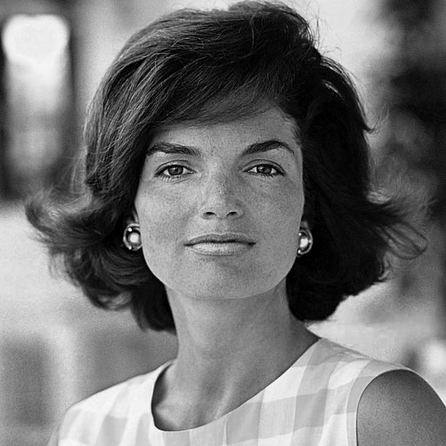 [Image of Jacqueline Kennedy Onassis]