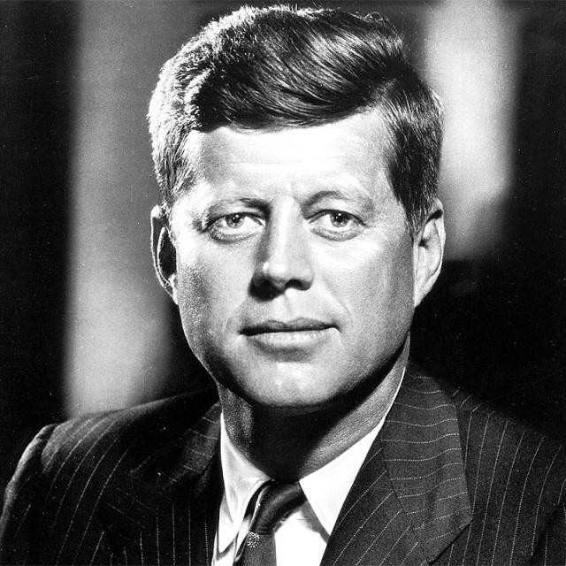 [Image of John F. Kennedy]