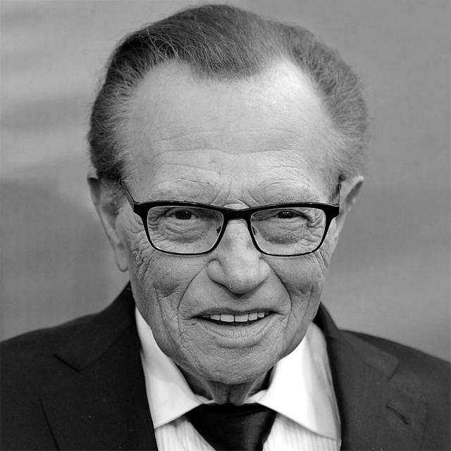 [Image of Larry King]