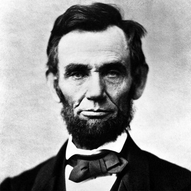 [Image of Abraham Lincoln]