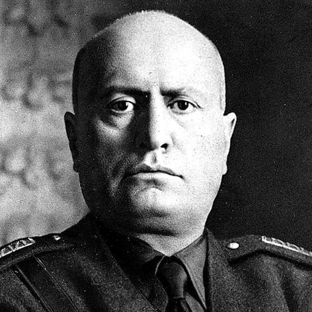 [Image of Benito Mussolini]