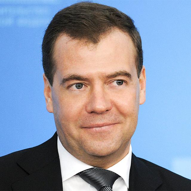 [Image of Dmitry Medvedev]