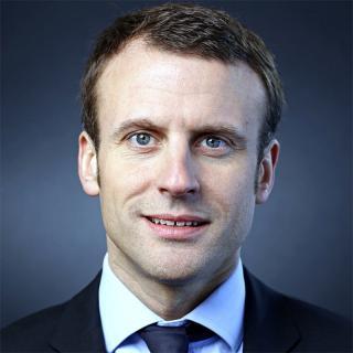 [Image of Emmanuel Macron]