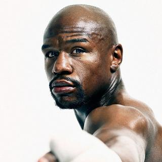 [Image of Floyd Mayweather, Jr.]