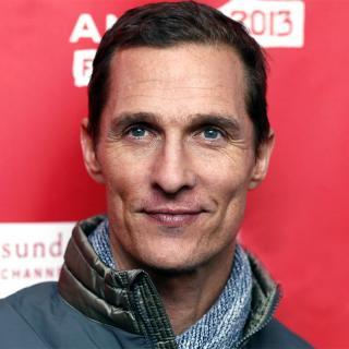[Image of Matthew McConaughey]