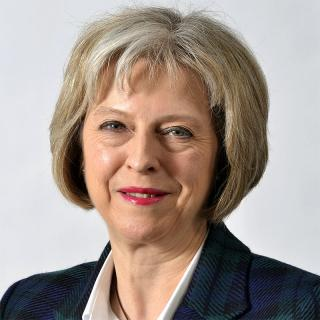 [Image of Theresa May]