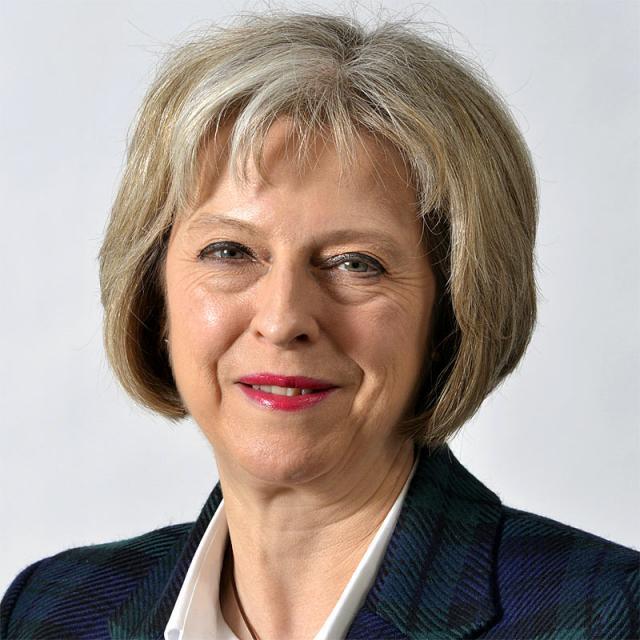 [Image of Theresa May]