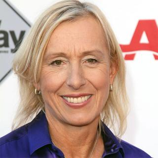 [Image of Martina Navratilova]