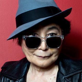 [Image of Yoko Ono]