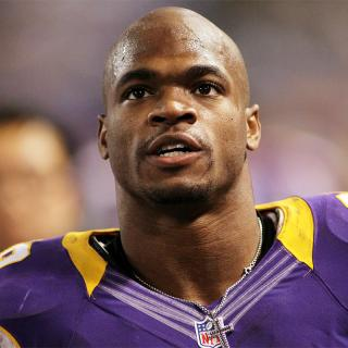 [Image of Adrian Peterson]