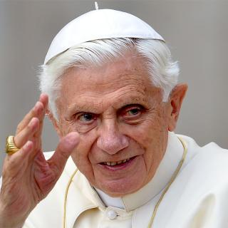 [Image of Pope Benedict XVI]