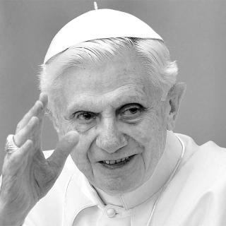 [Image of Pope Benedict XVI]