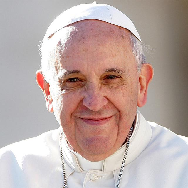 [Image of Pope Francis]