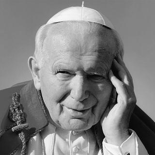 [Image of Pope John Paul II]