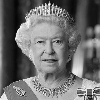 [Image of Queen Elizabeth II]