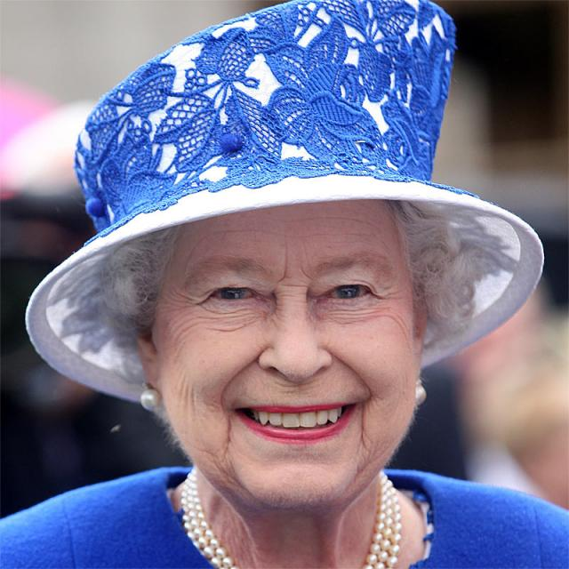 [Image of Queen Elizabeth II]