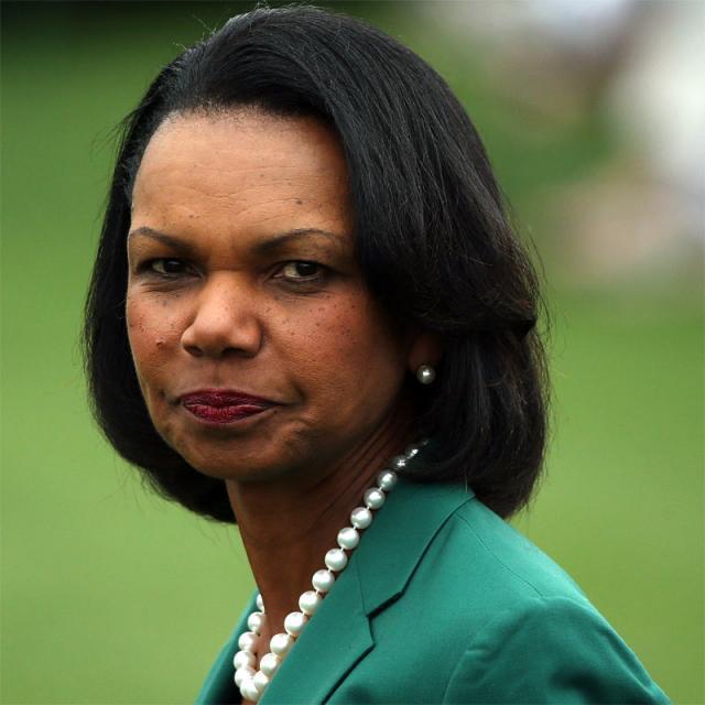 [Image of Condoleezza Rice]