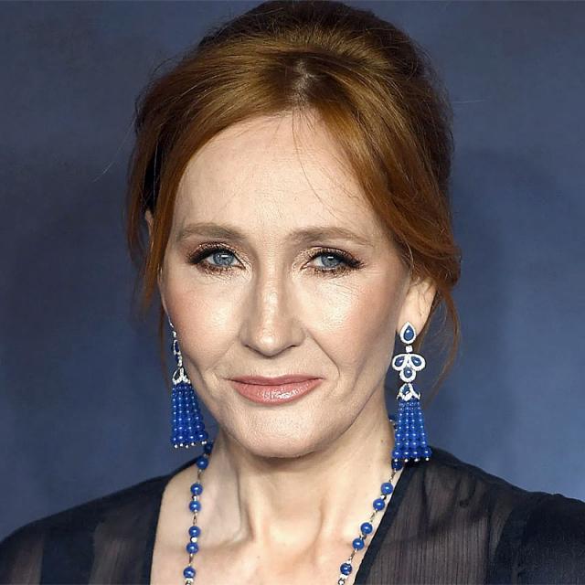 [Image of J. K. Rowling]
