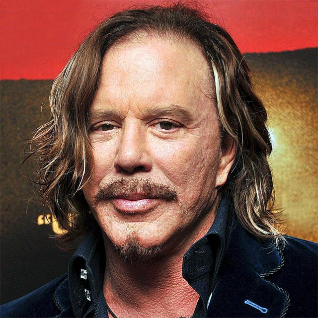 [Image of Mickey Rourke]