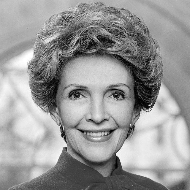 [Image of Nancy Reagan]