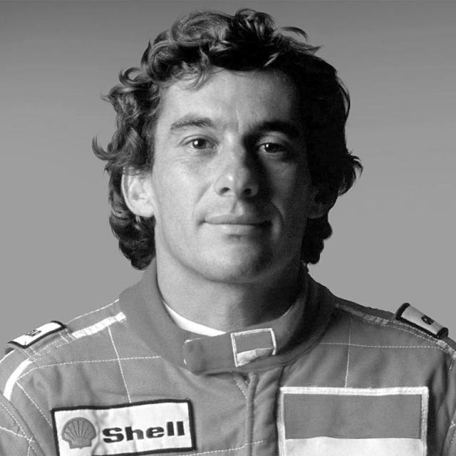 [Image of Ayrton Senna]