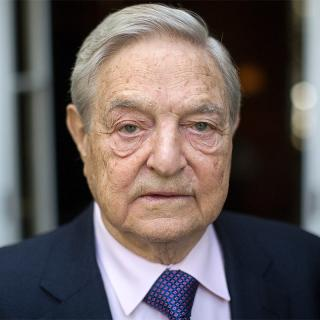[Image of George Soros]