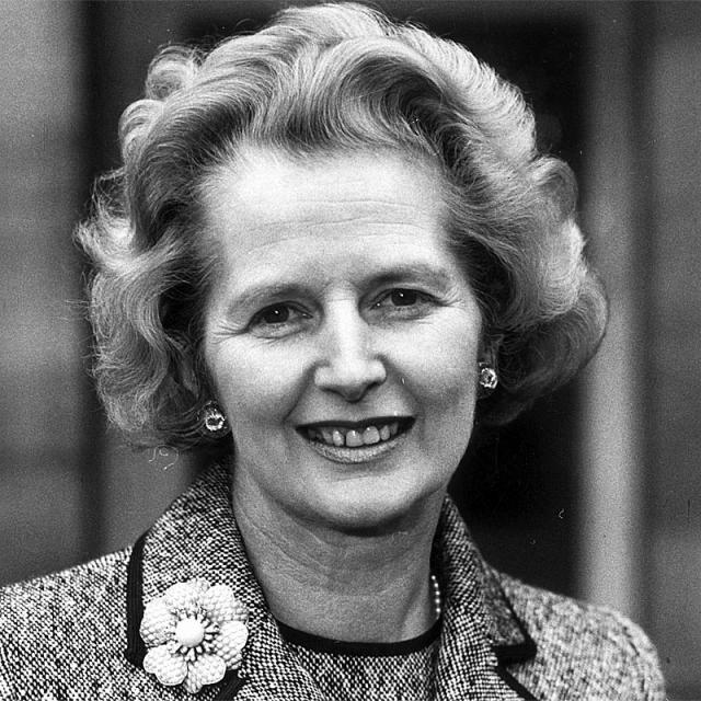 [Image of Margaret Thatcher]